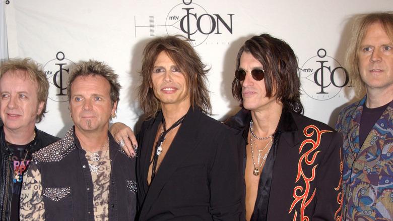 Rock band Aerosmith