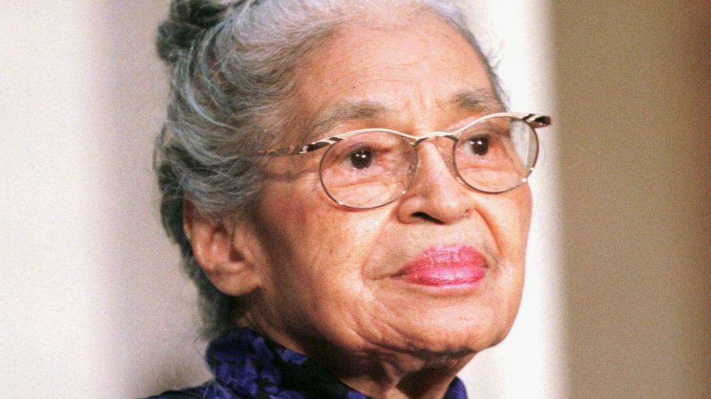 Rosa Parks civil rights icon