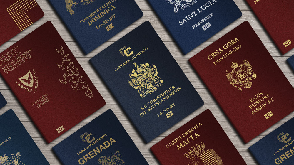 foreign passports from many countries