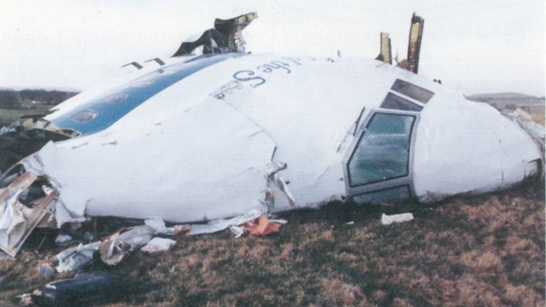 Pan Am Flight 103 crash site