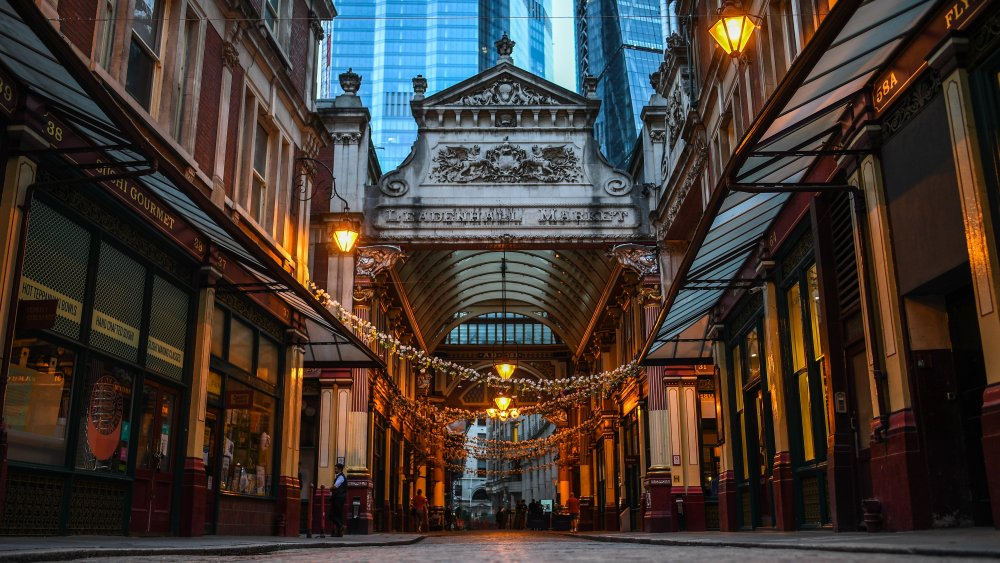 Leadenhall Market awaits shoppers and Harry Potter fans alike
