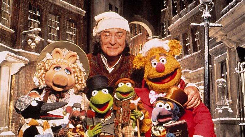 michael caine in muppets christmas carol