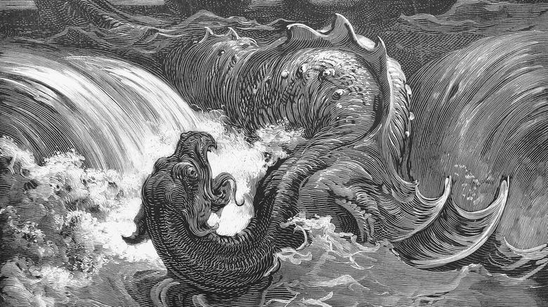 Illustration of Leviathan