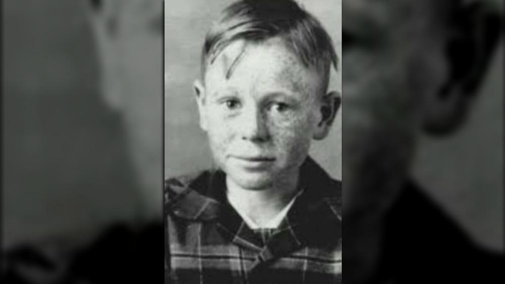 Ed Gein as a child