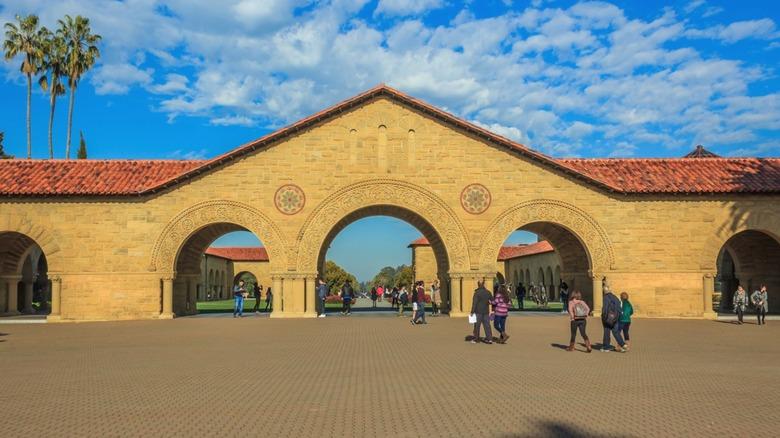Stanford Main Quad entrance