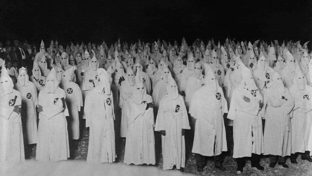 KKK gathering