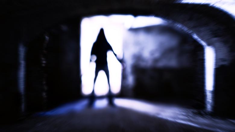 Mexican ripper in shadows