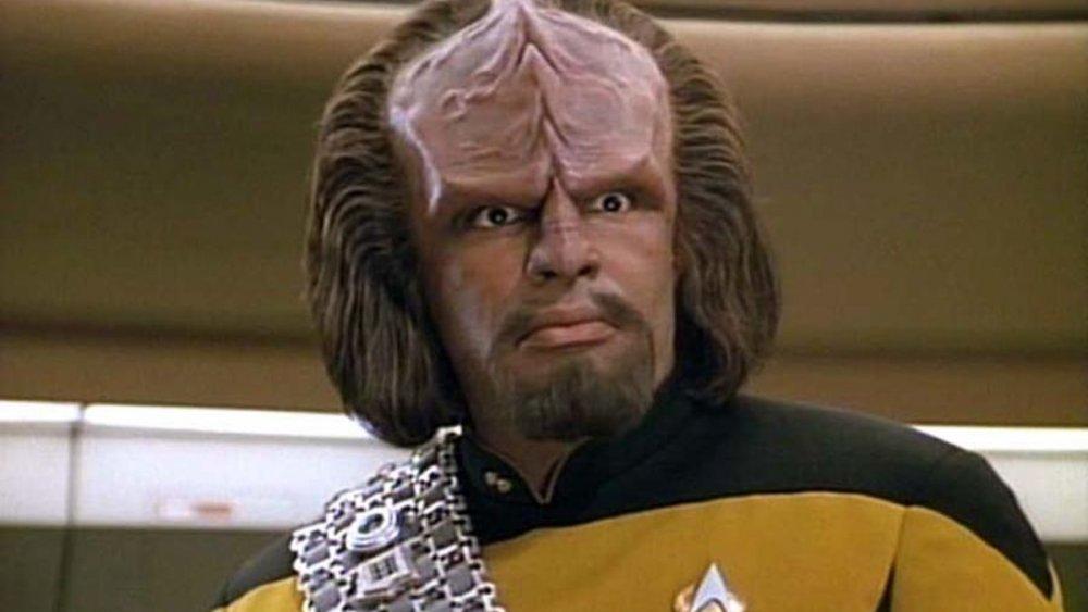 Michael Dorn, Star Trek, Klingons