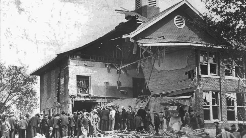 the Bath School Bombing