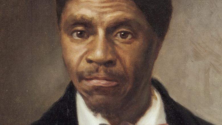 Oil portrait of Dred Scott