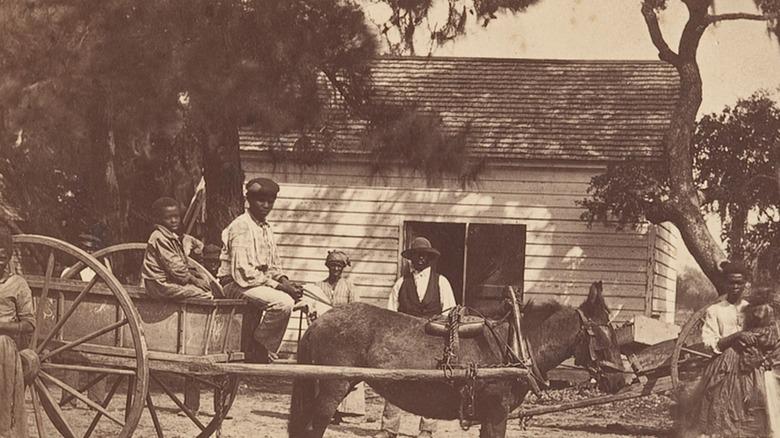 Blacks in 1860s South Carolina