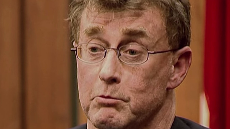 Michael Peterson in the courtroom