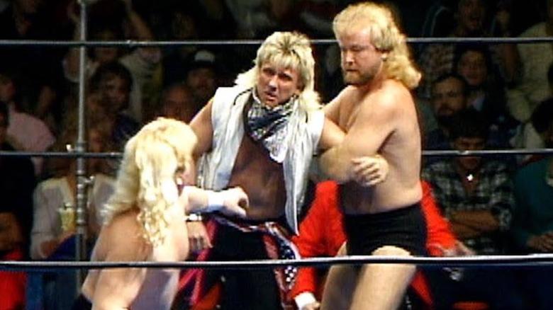 Midnight Express attacks Ricky Morton