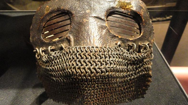 WWI splatter mask