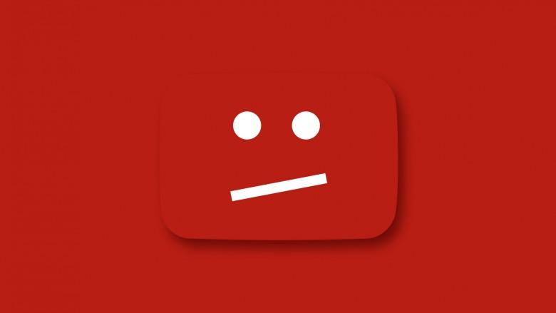 broken youtube video face
