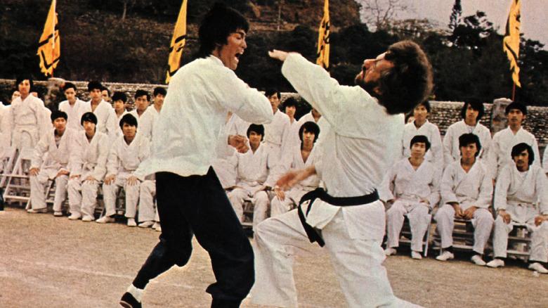 Bruce Lee fighting