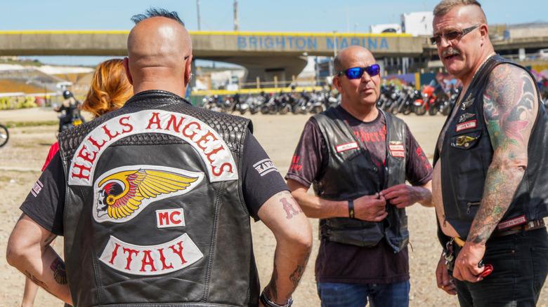 Hells Angels members