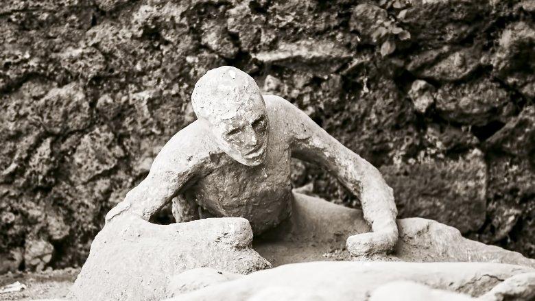 Pompeii, plaster cast