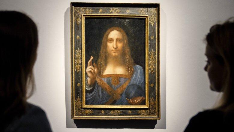 Salvator Mundi, Leonardo DaVinci, painting