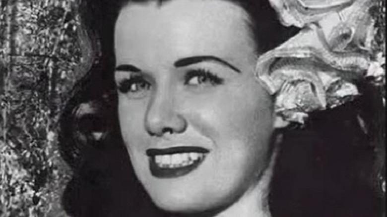 Jean Spangler smiling