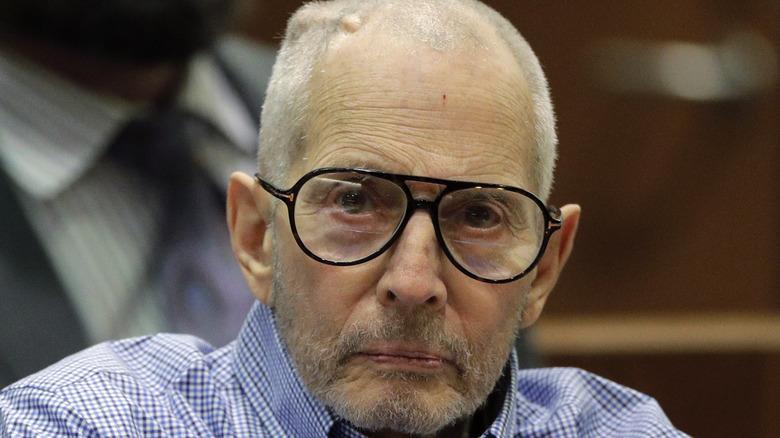 Robert Durst sitting in court