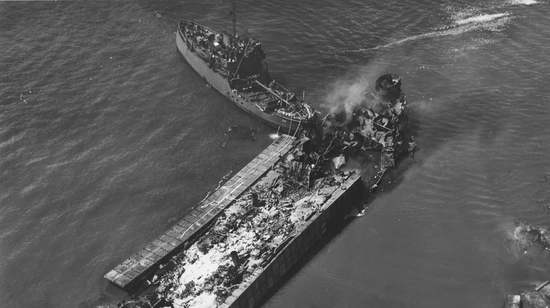 LST-480 during West Loch disaster