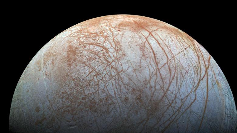 Europa, one of Jupiter's moons