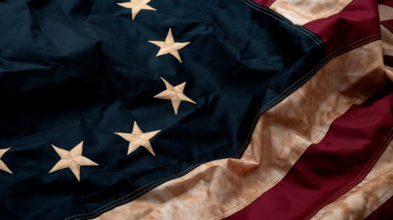 a 13-star american flag