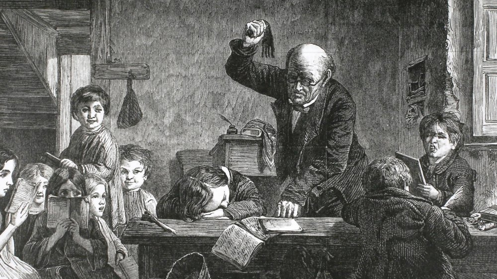 A portrait of corporal punishment in the classroom.