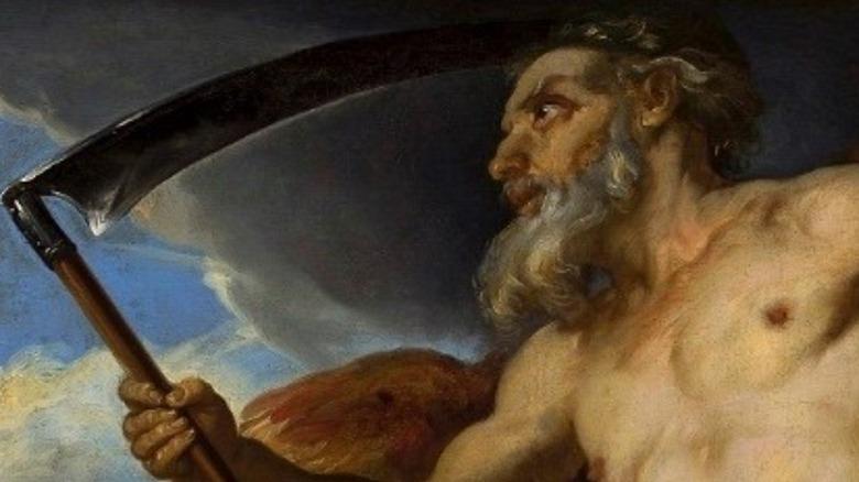 cronos and his scythe