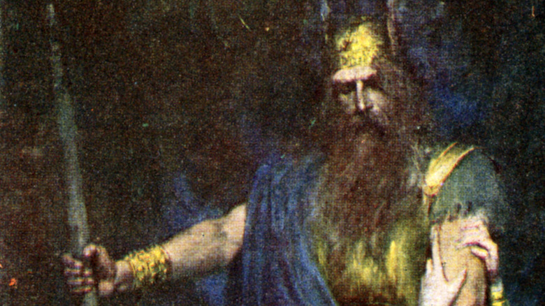 Odin and Brunhilde painting