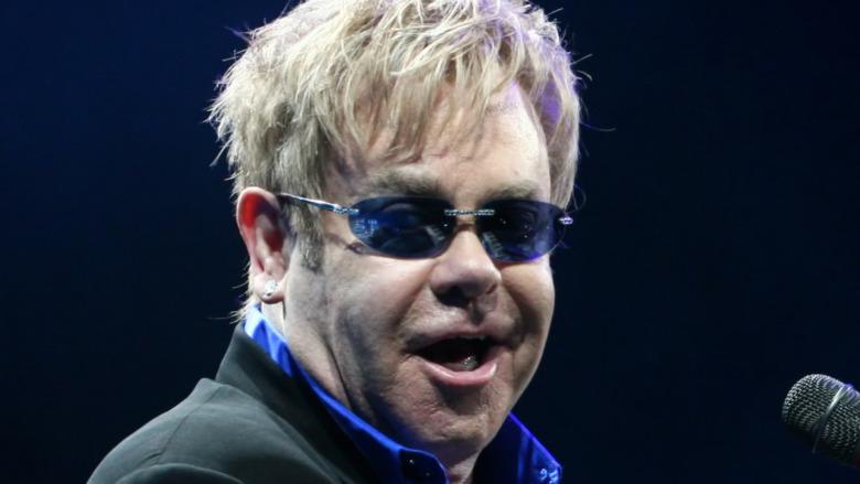 Elton John performing in 2010