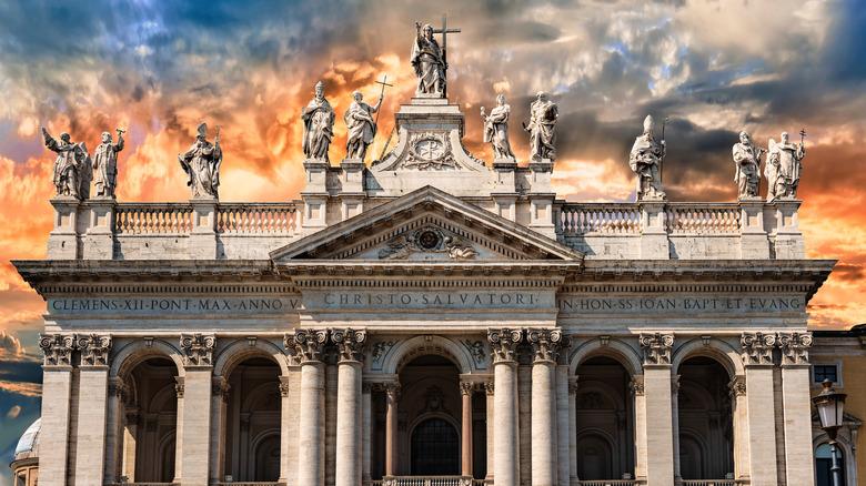 St. John Lateran Basilica facade