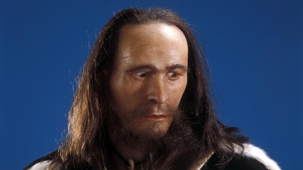 model of Ötzi