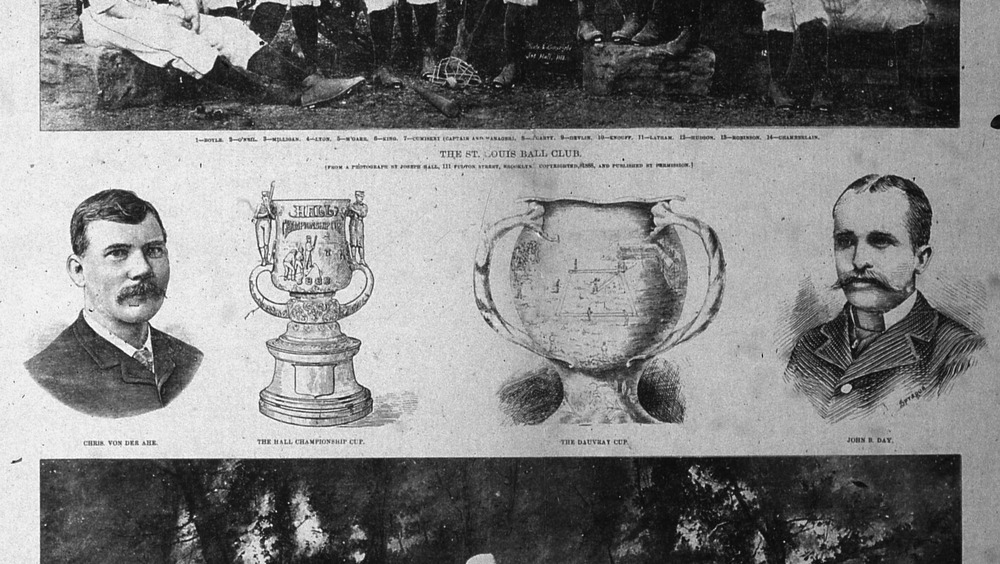The Dauvray Cup in 1888