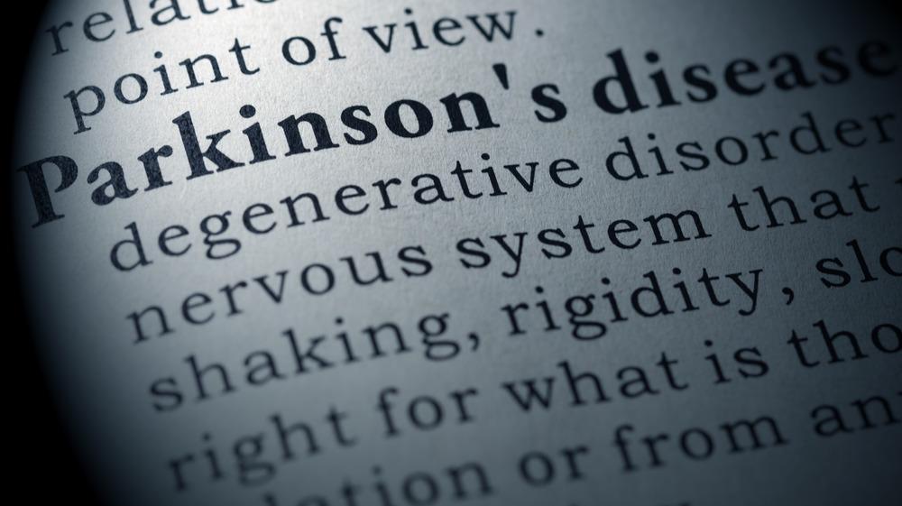 Dictonary definition of Parkinson's disease