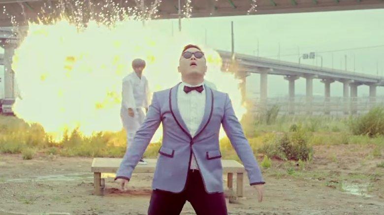 """Psy in """"Gangnam Style"""""""