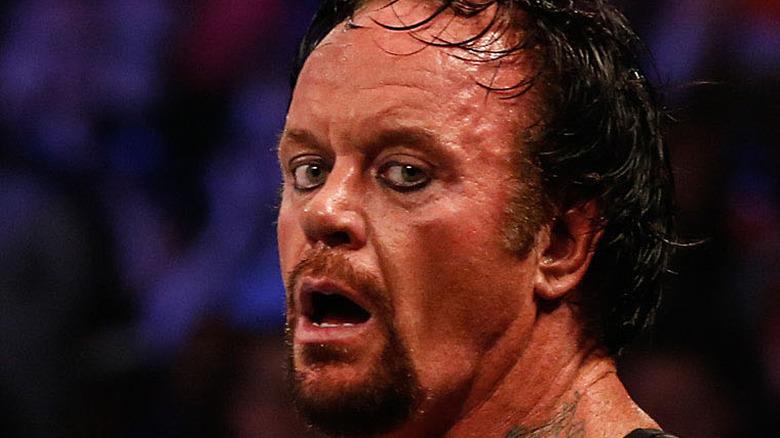 The Undertaker fighting