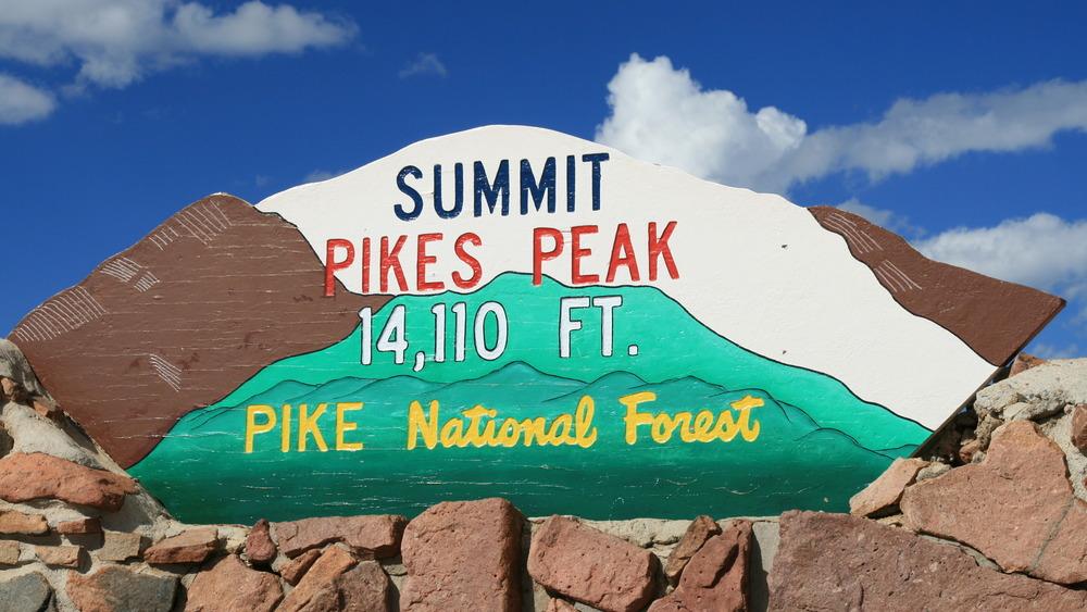 Correct Pikes Peak