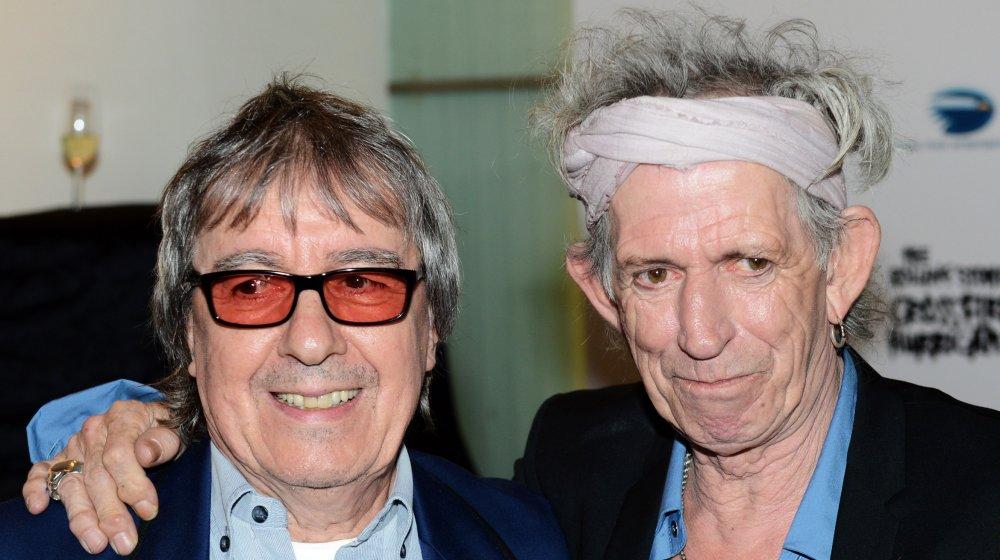 Bill Wyman and Keith Richards