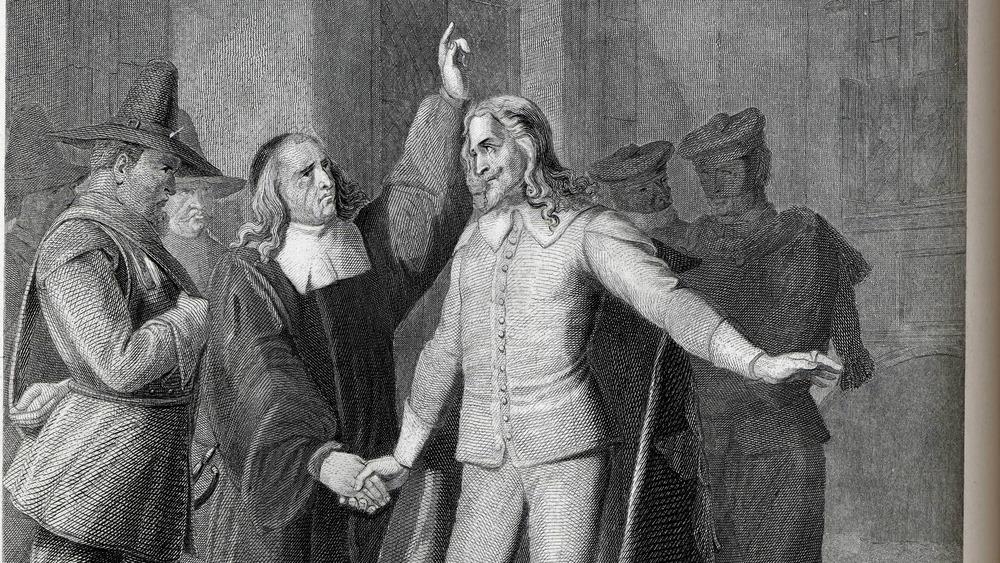 Charles I before his beheading