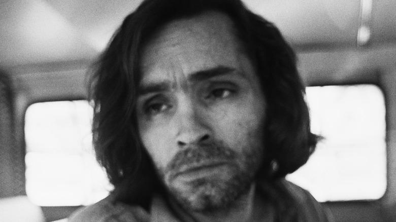 Charles Manson in custody, 1970