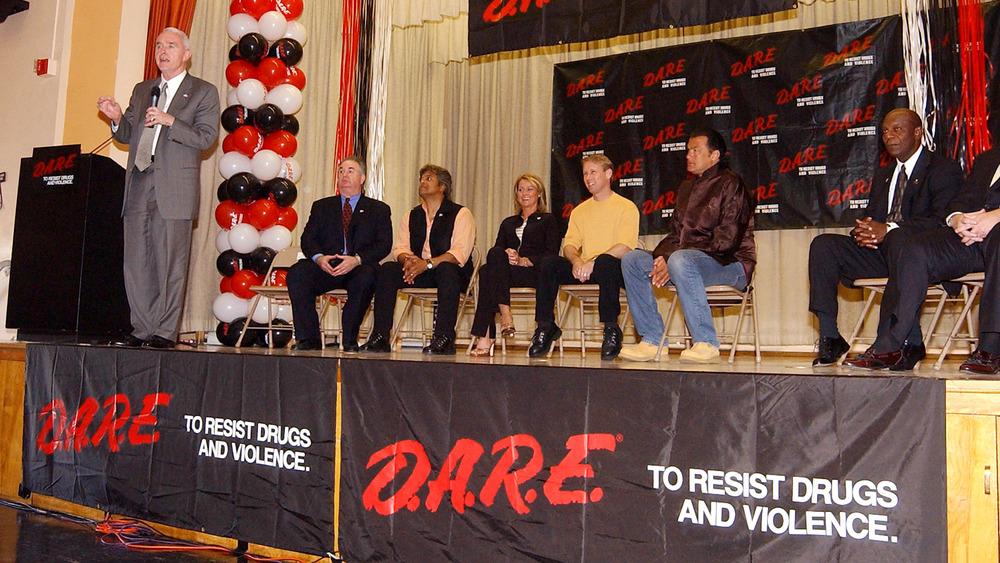 D.A.R.E. program event