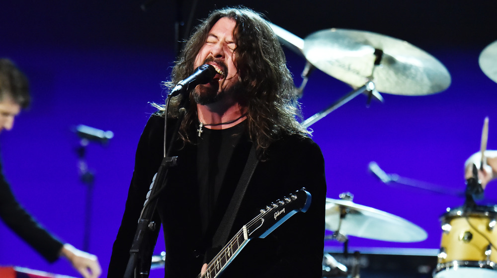 Dave Grohl Singing