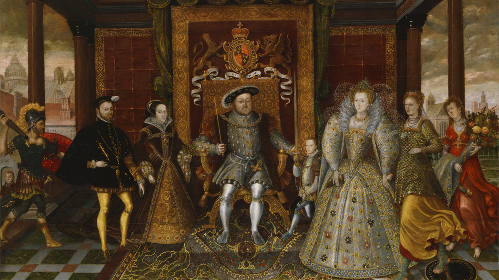 the succession of henry viii