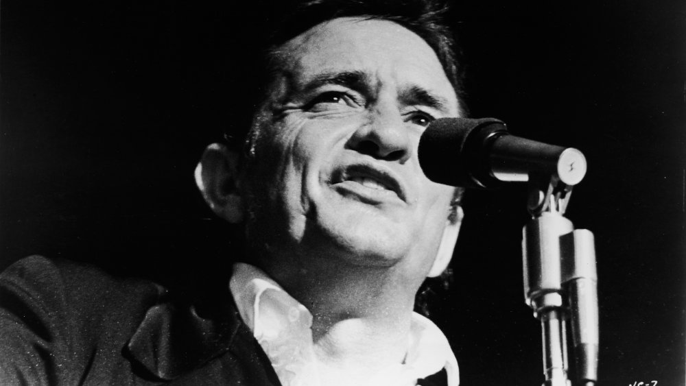 Johnny Cash not wearing all black