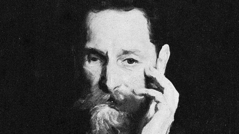Portrait of Joseph Pulitzer, newspaper editor and publisher