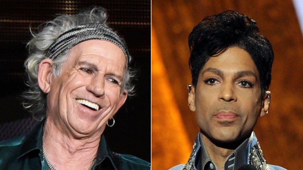 Keith Richards and Prince