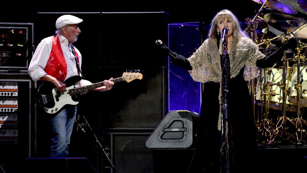 John McVie and Stevie Nicks