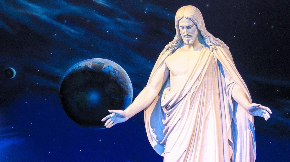 Christus statue, Temple Square